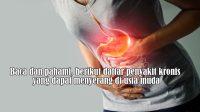 Berikut daftar penyakit kronis yang dapat menyerang di usia muda
