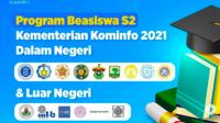Lowongan Program Beasiswa S2 Terbaru Tahun 2021 Dalam dan Luar Negeri Kominfo